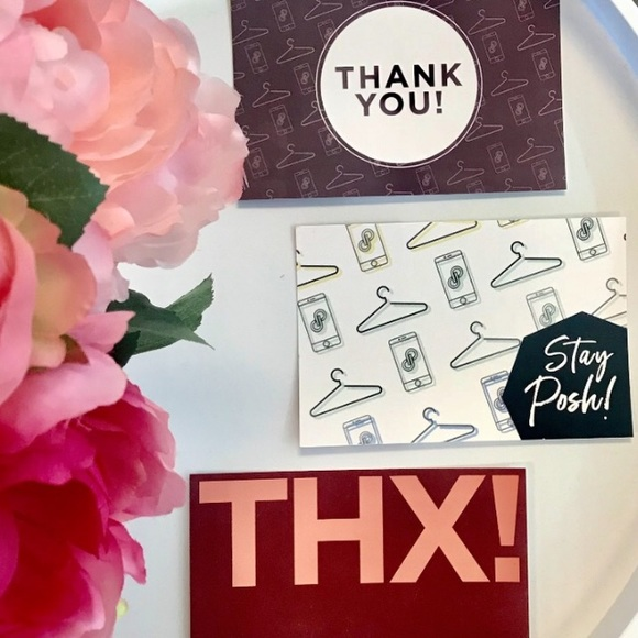 accessories new poshmark assorted thank you cards poshmark